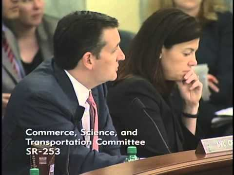 Sen. Ted Cruz Offers ICANN Amendment at Commerce Hearing