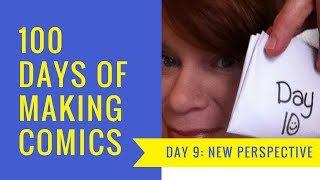 Day 10: Neanderthal | #100DaysOfMakingComics