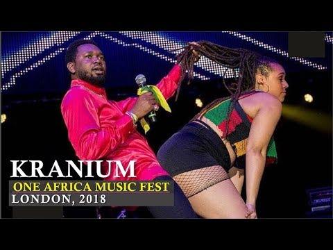Kranium crazy performance   One Africa Music Fest, London 2018
