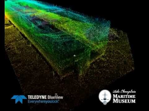 3D Sonar Scan of the Sloop Island Canal Boat