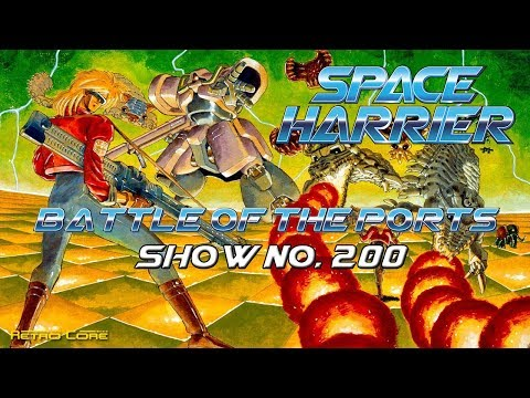 Battle of the Ports - Space Harrier - Updated (スペースハリアー) Show #200 - 60fps