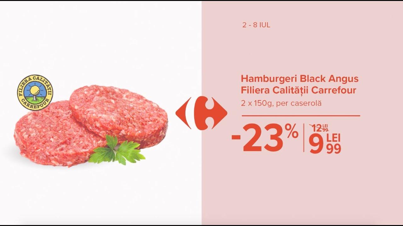 Alege Produse Romanesti | Hamburgeri Black Angus