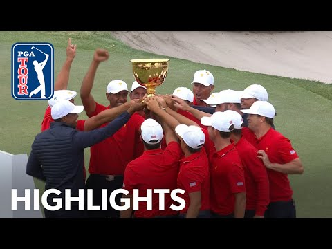 Team U.S. Win The Presidents Cup! | Day 4 | Presidents Cup 2019