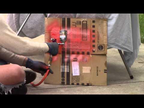 Harbor Freight Mini Detail Spray Gun Review (Central Pneumatic #92126)
