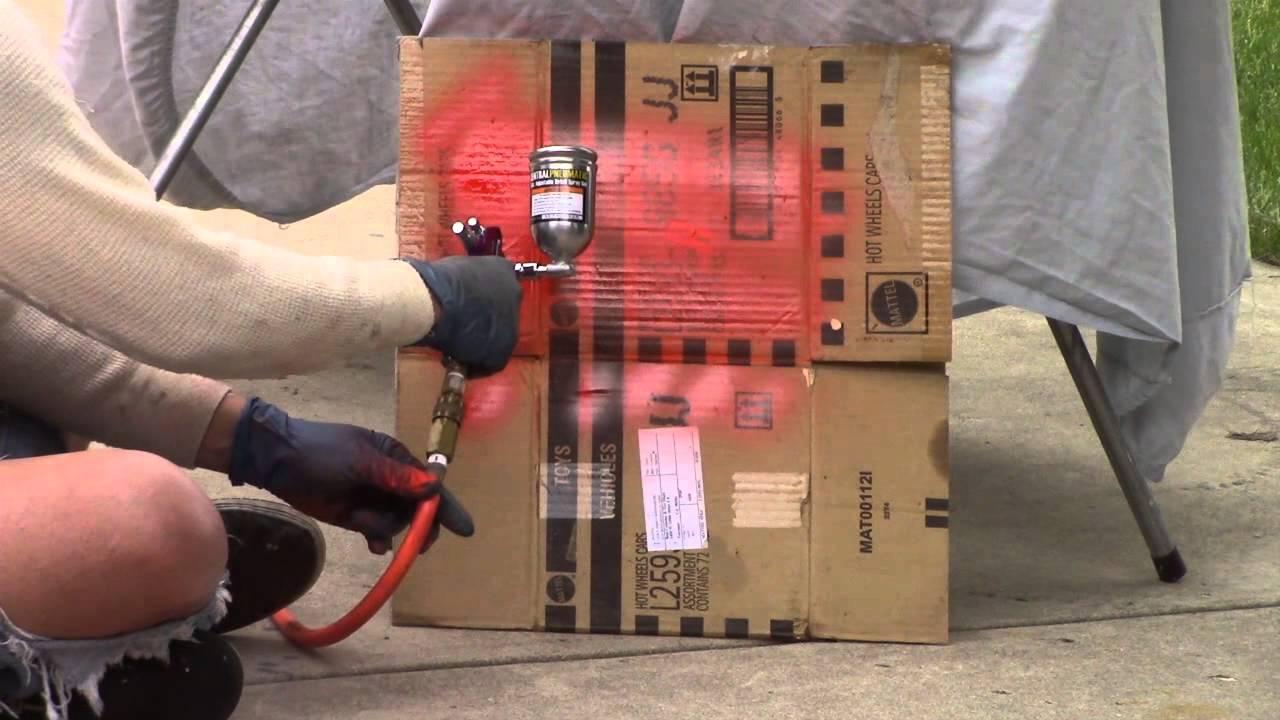 Central Pneumatic Hvlp Touch Up Spray Gun