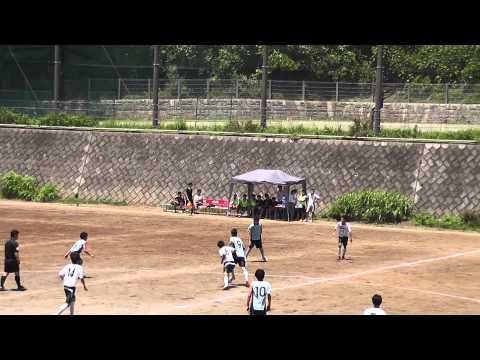 20140614 神奈川U18リーグ 横浜商大 vs 永谷  前半