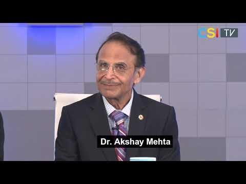 CSI 2018 Mumbai - Dr. Akshay Mehta, Dr. C S Venkata Ram & Dr. H K Chopra