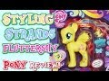 Rainbow Power Fashion Style Fluttershy Styling Strands My Little Pony review!