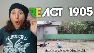React 1905 OITAVA SÉRIE | Paródia Estaca Zero Luan Santana Ft Ivete Sangalo [whinderssonnunes]