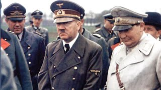 SEEING HITLER ESCAPE GERMANY, APRIL 30, 1945