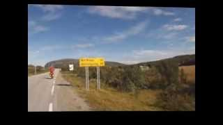 Nordkapp6000 - Promo of 6400 km tour on bicycles to Nordkapp