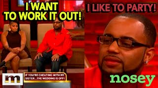 Out Partying With 5 Kids at Home 🤔 | Nosey | The Maury Show