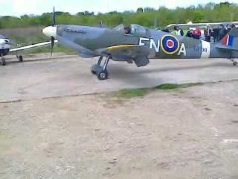 First Official flight of the Enstone Spitfire Mk26B.