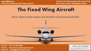 various types uses and features of fixed wing aircrafts