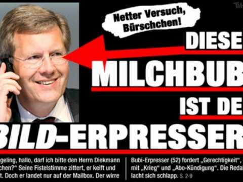 Anrufbeantworter BILD: Kai Diekmann - Christian Wulff