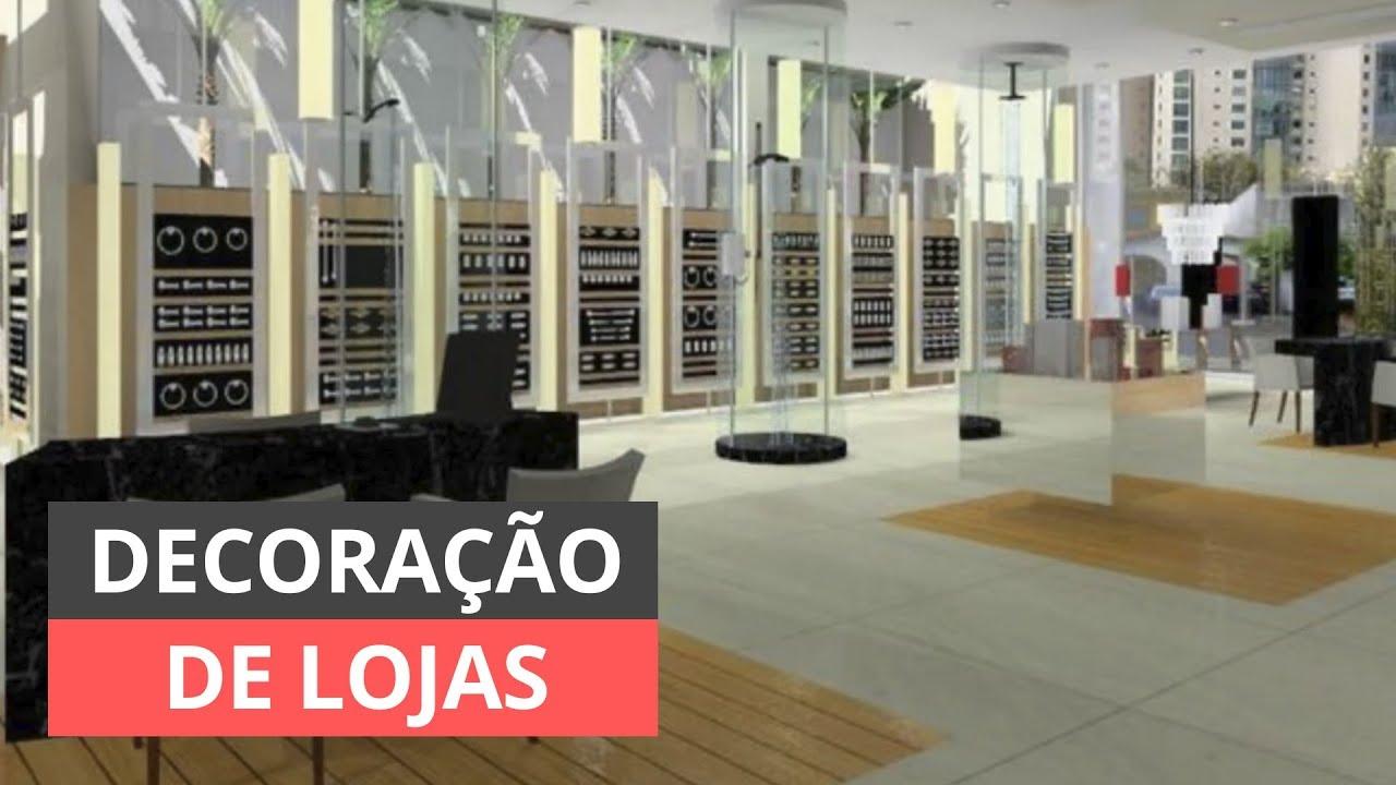 DECORA u00c7ÃO DE LOJA INSPIRE SE COM ESTAS IDEIAS YouTube -> Decoracao Para Loja Feminina Pequena
