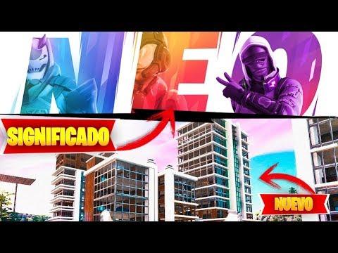 *TEMPORADA 9* - SIGNIFICADO DE NEO!  FORTNITE
