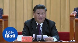 Xi Jinping says no one should 'dictate' to China amid tensions