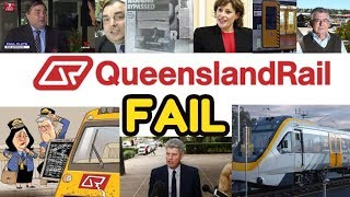 QUEENSLAND RAIL FAIL - 1986 advertisement featuring Electric Trains that are still in use
