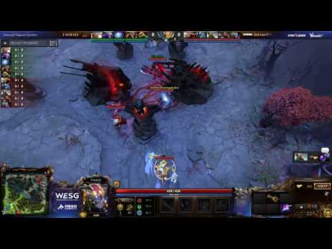 [ES] E. Wolves vs Infamous, Game 2, WESG Dota 2 Americas Qualifiers