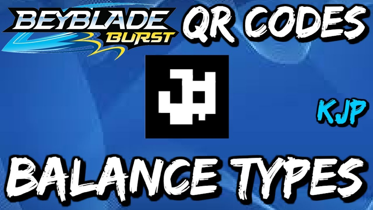 Every Beyblade Burst Qr Code