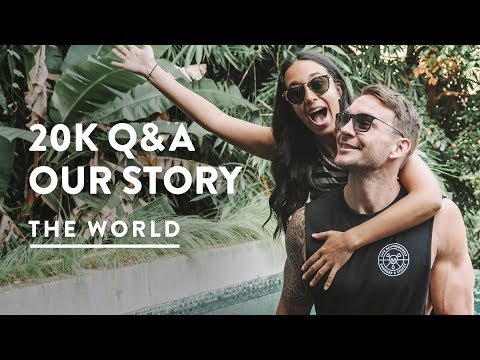 20K Q&A — YOUR QUESTIONS ANSWERED! 20,000 SUBSCRIBERS | Travel Vlog 125, 2018 | Digital Nomad