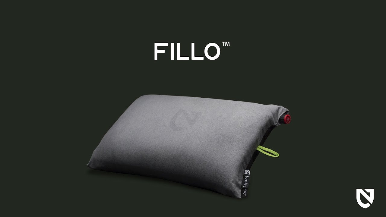fillo luxury camping pillow