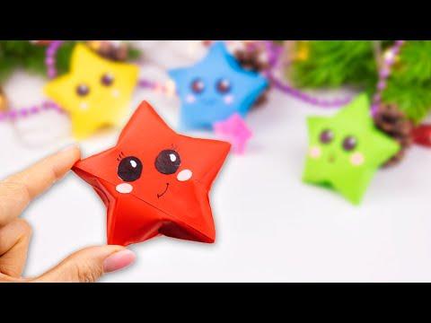 Оригами поделки новогодние