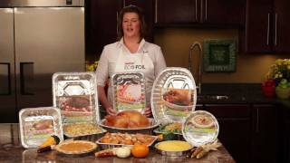 How To Roast A Thanksgiving Turkey With Oven Bag- Eco-foil