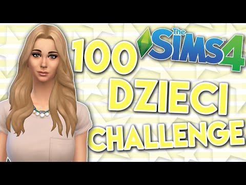 THE SIMS 4 CHALLENGE 100 DZIECI #93 KTO PUKA ?