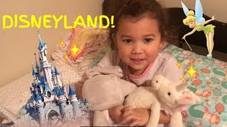 Surprising Lillie for her 5th Birthday - Trip to Disneyland!