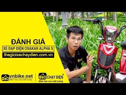 Đánh giá xe đạp điện Osakar Alpha S