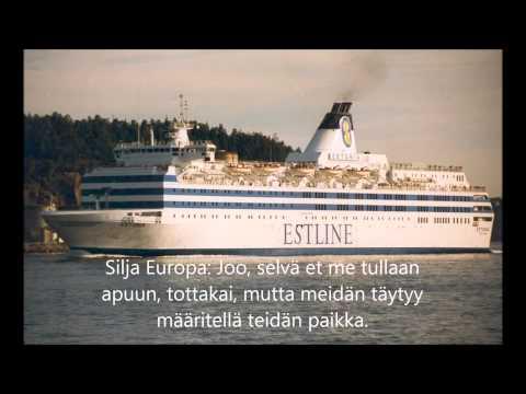 M/S Estonia- Mayday call (part 1)