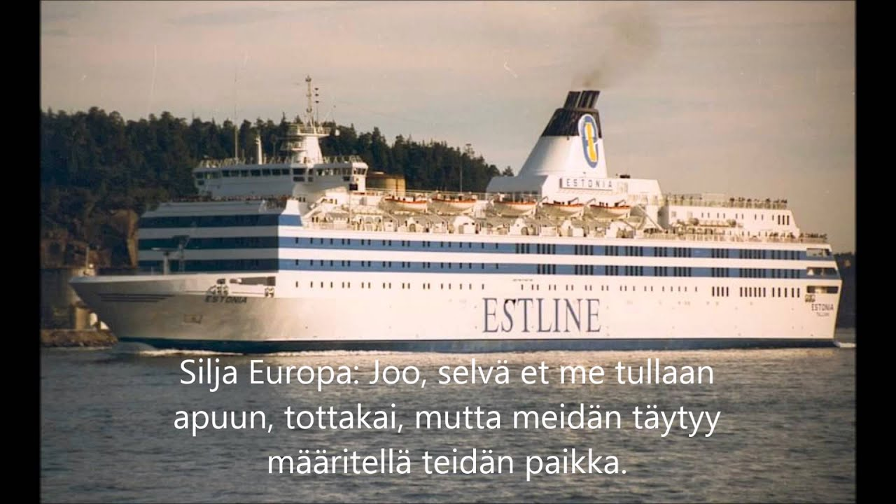 Estonia Mayday
