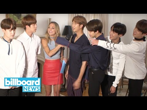 BTS Reacts to Jin's 'Third Member From the Left' Viral Moment   Billboard News