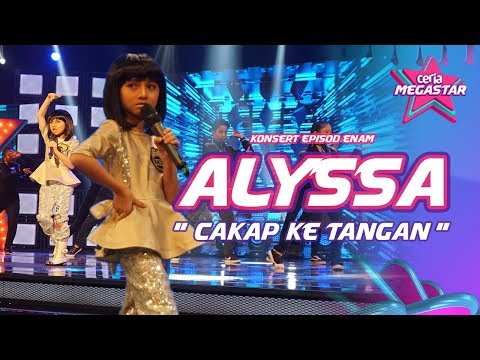 Comelnya Alyssa macam Anak Patung persembah Cakap ke Tangan Stacy | Ceria Megastar