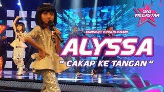 Comelnya Alyssa macam Anak Patung persembah Cakap ke Tangan Stacy | Ceria Megastar MP3