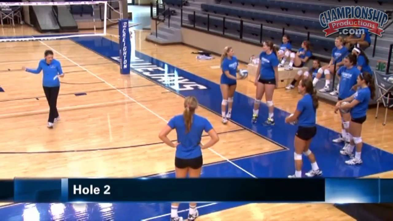 Discover A Fun Warm Up Drill For Volleyball Volleyball 2015 18 Youtube