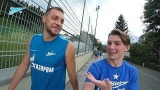 Видеоблог «Зенит-ТВ»: Лодыгин и медведь, тайный агент, тренировка под дождем и Артем Суворов