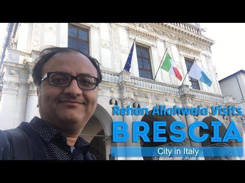 Rehan Allahwala Visits Brescia Italy