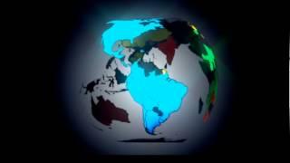 envelopando o mapa mundi