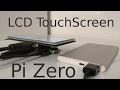 How to setup an lcd touchscreen on the P