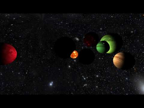 Musical Planets - Audio Generated 3D Worlds