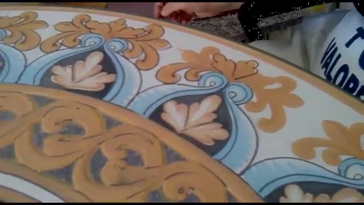 Decorazione tavolo in pietra lavica   youtube