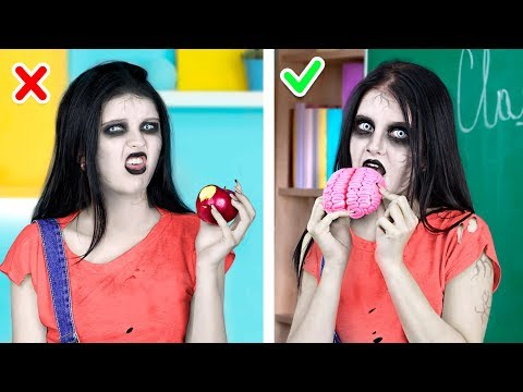9 Zombie Food Recipes / What If Your BFF Is A Zombie