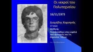 Πολυτεχνείο 1973: Τα θύματα της Χούντας