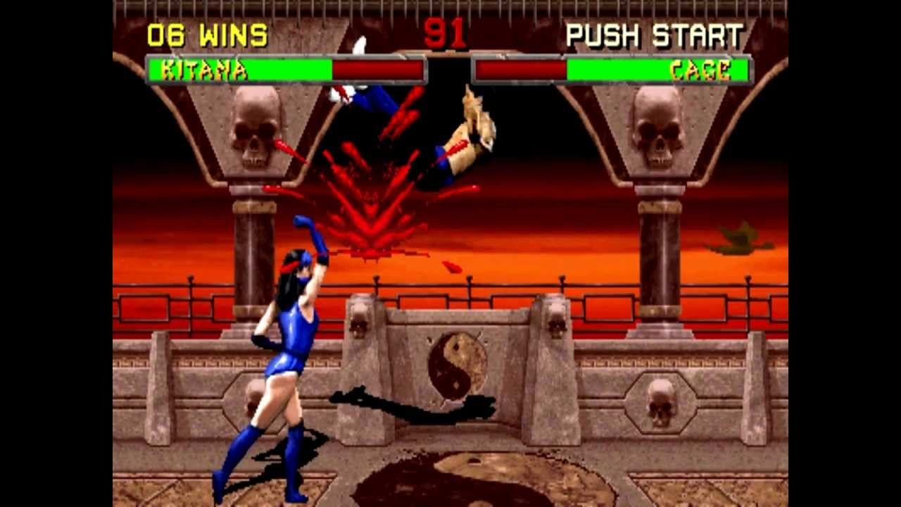 Mortal Kombat 2 Kitana Hd Playthrough - Youtube-6494