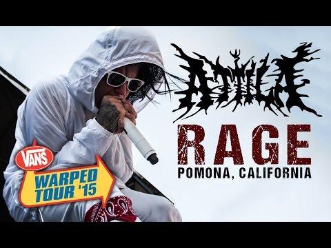 Attila  Rage ! Vans Warped Tour 2015