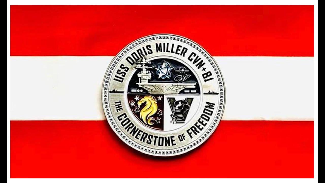 USS Doris Miller Challenge Coin (CVN-81)