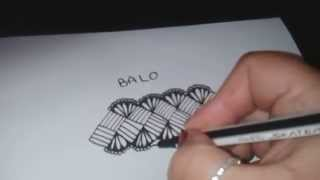 How to draw BALO pattern?